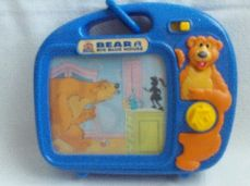 Adorable Rare 'Bear in the Big Blue House' Musical Wind Up Cot Toy